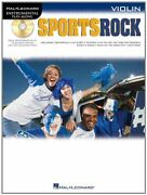 Sports Rock For Violin Hal Leonard Instrumental Play-along Book The Fast Free