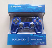Blue Ps4 Controller Playstation Game Console Dualshock 4 V2 Wireless Official