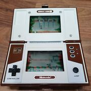 Nintendo Game And Watch Donkey Kong 2 1983 Works Great New Batteries Free Ship
