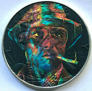 Fear And Loathing In Las Vegas American Silver Eagle 1oz .999 Silver Dollar Coin