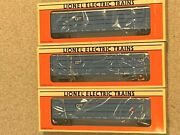 Lot Of 3 - New Lionel 16242 Grand Trunk Western 2 Tier Auto Carrier W/ Screens