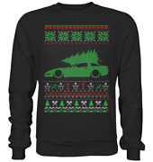 Glstkrrn Corvette Coupe C5 Ugly Christmas Sweater