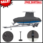 T-top Roof Boat Cover Heavy-duty Storage Fits Boats 20-22 Ft Long X 106 Wide