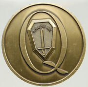 United States Army Fort Benning Q Follow Me Old Show Piece Challenge Coin I94018