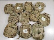 Military Ifak Med Kit Pouch Molle M/c Lot Of 10 Cd346