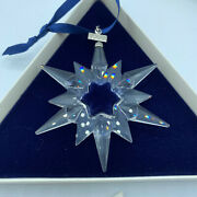Crystal 1997 Holiday Christmas Ornament Annual Limited Edition Rare