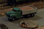 Old Dump Truck With Removable Dirt Load N Scale Vehicles