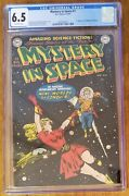 Mystery In Space Comic 1 1951 Cgc 6.5 Off White Dc Comics Golden Age 1st Knight