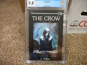 The Crow 2 Cgc 9.8 Caliber Press 1989 Jim Oand039barr Cover Story Art 1st Print White