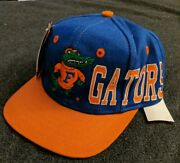 1990s Apex One Florida Gators Snapback Hat Of The Gator, Ready For A Fight.