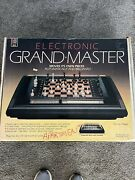 Milton Bradley Electronic Grand-master Vintage Chess Game Read Ad Tested