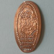Santa Wants You To Have A Happy Holiday Christmas Elongated Pressed Penny
