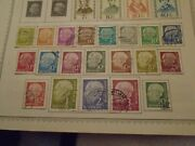 German Stamp Collection Many From The 1920's And 1930's And Ww2 Many Sets Also