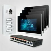 7 Hands-free Wifi Video Door Entry Phone Call System 1.0mp With Memory Monitor