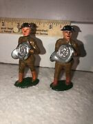 Two Barclay Manoil Soldiers 740 Soldier French Horn Lot 5