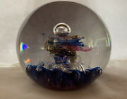 Vintage Paperweight By Selkirk Limited Edition 1988 Magnum Size