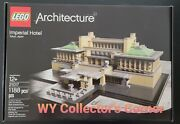 Retired Lego Architecture Set 21017 Imperial Hotel New And Factory Seal
