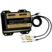 Dual Pro Ss2 Sportsman Series Battery Charger - 20a - 2-10a-banks - 12v/24v
