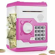 Playsheek Piggy Bank For Girls Boys Large Electronic Money Coin Banks With Passw