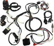 Auinland Electrics Stator Coil Cdi Wiring Harness Solenoid Relay Spark Plug
