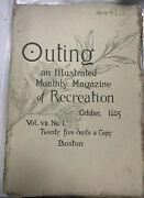 Outing An Illustrated Monthly Magazine Of Recreation October 1885