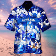 New Bowling Is The Best Part Of My Day Hawaiian 3d Hawaii Shirt Aloha Best Price