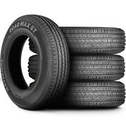4 Tires National Road Max St St 235/85r16 Load F 12 Ply Trailer