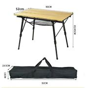 New Folding Camping Portable Table Outdoor Bbq Desk Furniture Tool Accessories