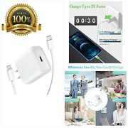[apple Mfi Certified] Fast Charger Stuffcool 20w Usb C Power Delivery Wall Char