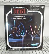 Sdcc 2021 Star Wars Vintage Collection 3.75 Emperorand039s Throne Room In Stock Usa