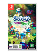 The Smurfs Mission Vileaf Nintendo Switch 2021 - Russian Edition