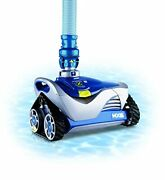 Zodiac Mx6 Automatic Suction Side Cleaner Vacuum For Inground Pools, Blue/gray