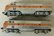 Lionel No. 2345 Western Pacific F3 Diesel Aa Units