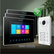 Homsecur 7 Wifi Video Door Phone Intercom System With Recording And Snapshot