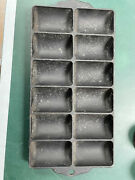 """Antique Griswold Erie Pa """"french Roll Pan No.11 P/n 950n Circa Early 1900's"""