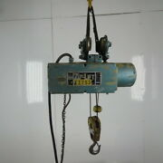 Pandh Zip-lift 1 Ton Wire Rope Electric Hoist 15and039 Lift 20fpm 460v 3ph W/trolley