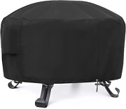 Gardrit Fire Pit Cover, Round Patio Fire Bowl Cover, Outdoor Gas Propane Firepit