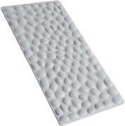 Non-slip Bathtub Mat Othway Soft Rubber Bathroom Bathmat With Strong Suction Cup