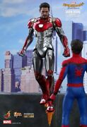 Hot Toys 1/6 Spider-man Homecoming Mms427d19 Iron Man Mk47 Die-cast Figure