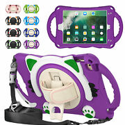 For Ipad 8 7th Air Mini 5 4 3 2 1 Tablet Kids Shockproof Hybrid Stand Strap Case
