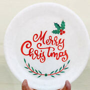 Marble White Decorative Collectable Food Serving Plate Best New Year Gifts Her