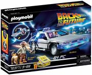Playmobil 70317 Back To The Future Delorean With Figures And Features, For Ages