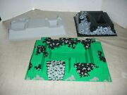 """Lego 3d Platforms Lot Of 3 Base Plates 2 -15 X 10"""" And Black 10 X 10"""
