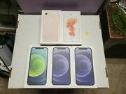 Lot Iphone 12 3 Iphone 7 Iphone 6s Official Apple Sticker And Sim Remover
