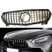 Front Grille Grill Kit For 2015-2016 Mercedes Benz R190 C190 Amg Gt S 2 Door 1pc