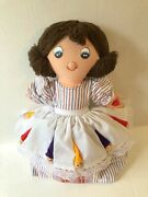 Vintage Topsy Turvy Doll - Snow White And The 7 Dwarfs / Witch, Flip Reverse Story