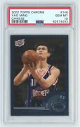 Yao Ming 2002 Topps Chrome Chinese Rookie Card Rc 146 Psa 10 Gem Mint