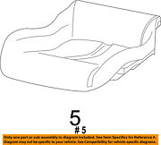 Chrysler Oem Front Seat-cushion Bottom Cover 5nt81dx9aa