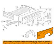 Gm Oem Pick Up Box Bed-outer Panel Left 20993985