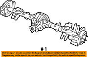 Jeep Chrysler Oem 2012 Liberty Rear Suspension-axle Assembly 68100686aa